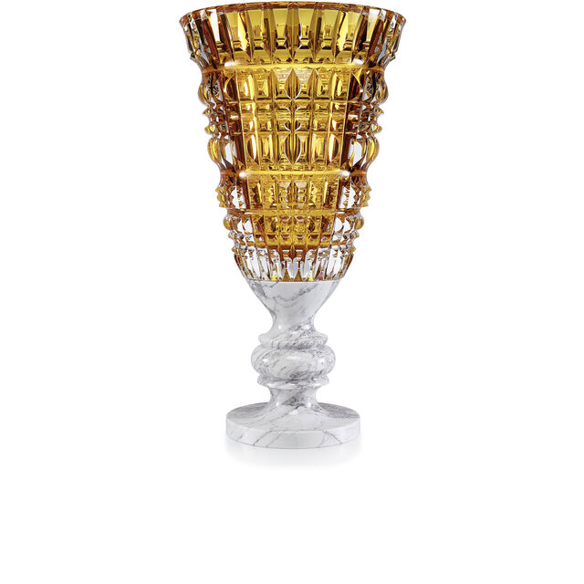 NEW ANTIQUE VASE BY MARCEL WANDERS STUDIO, Amber