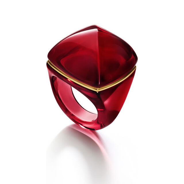 LA BAGUE POP RING, Rot