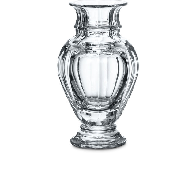 HARCOURT BALUSTRE VASE, Clear
