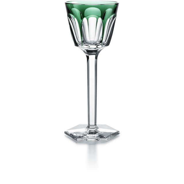 HARCOURT WINE RHINE GLASS, Dark green