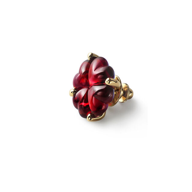 TREFLE BROOCH, Red