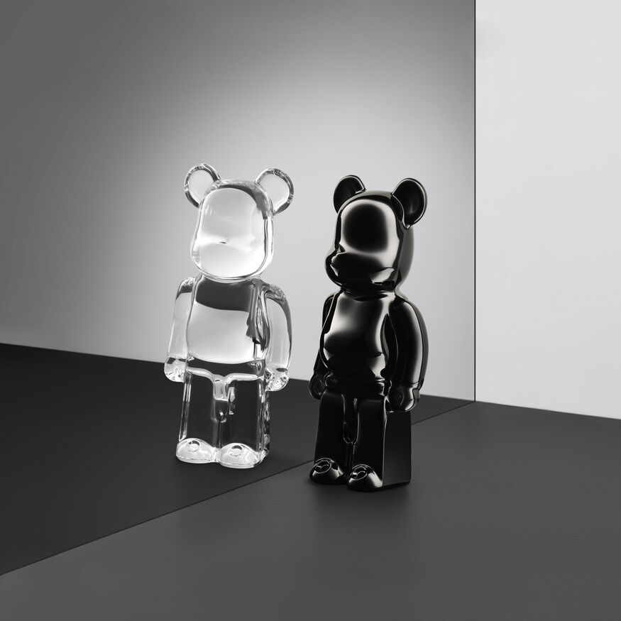 BACCARAT BE@RBRICK, Clear - 3