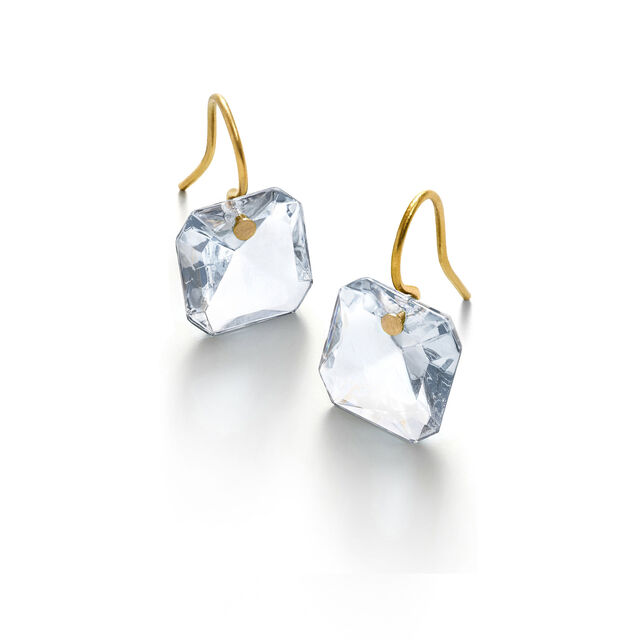 BACCARAT PAR MARIE-HÉLÈNE DE TAILLAC EARRINGS, Clear