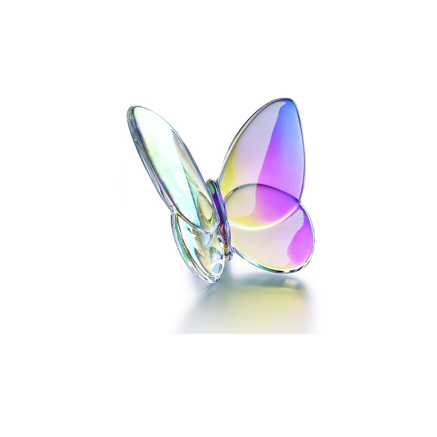 PAPILLON LUCKY BUTTERFLY, Iridescent clear