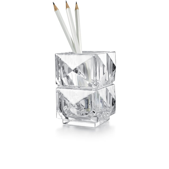 LOUXOR PENCIL HOLDER, Clear