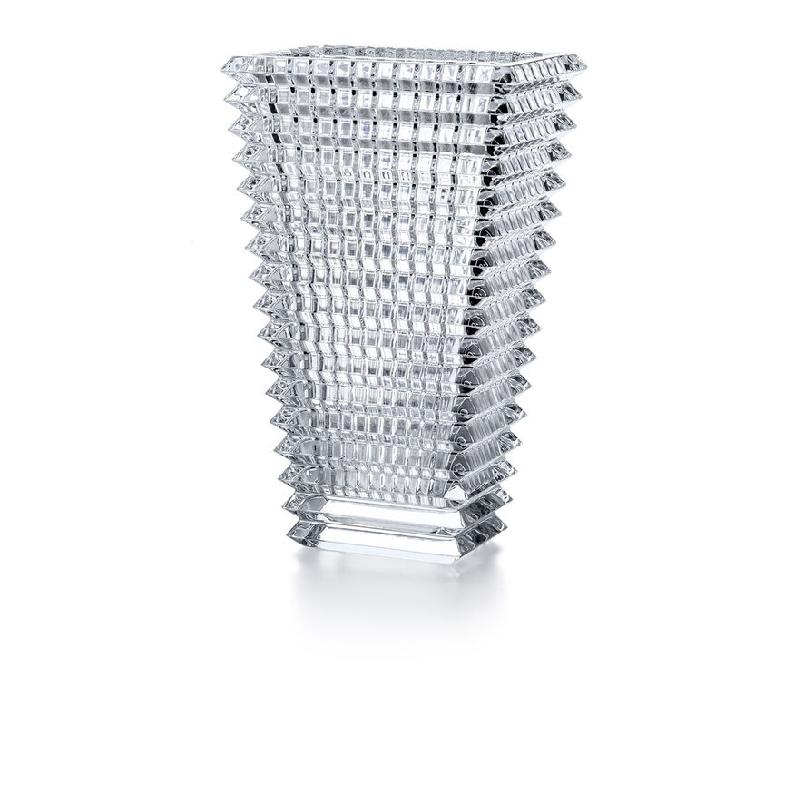 EYE VASE RECTANGULAR L, Clear