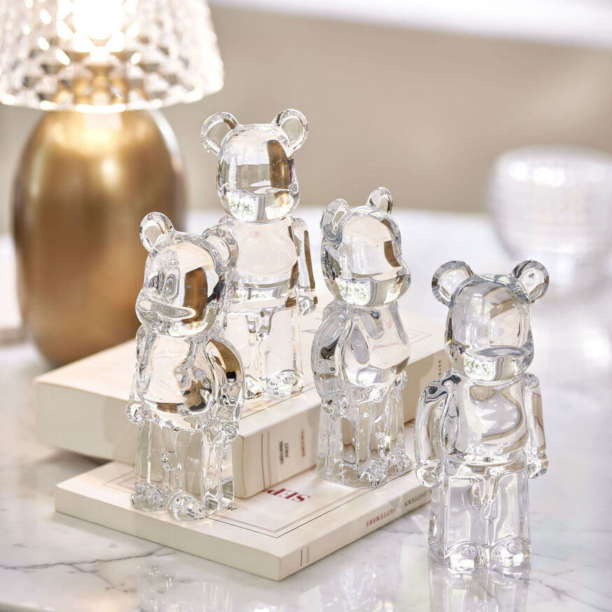 BACCARAT BE@RBRICK, Clear - 4
